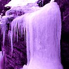 The Violet Ice Fall by maxy