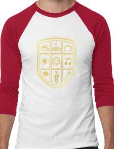 NERD SHIELD Men's Baseball ¾ T-Shirt