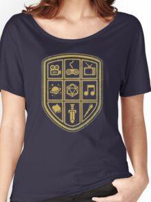 NERD SHIELD Women's Relaxed Fit T-Shirt