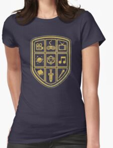 NERD SHIELD Womens Fitted T-Shirt