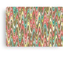Waves pattern Canvas Print