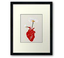 A Growing Heart Framed Print