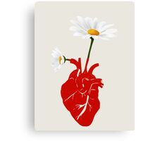 A Growing Heart Canvas Print