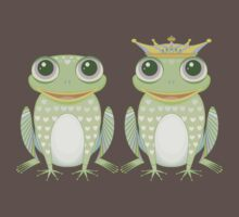Frog and Crowned Frog Kids Clothes