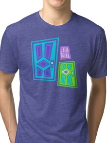 PICK A DOOR! Tri-blend T-Shirt
