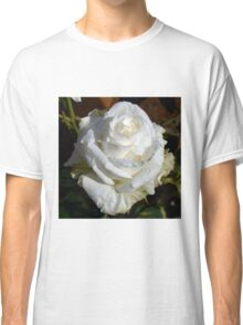 White Rose in the Garden 10 Classic T-Shirt