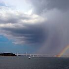 Rainbow on the Inland Sea by Joseph Tame