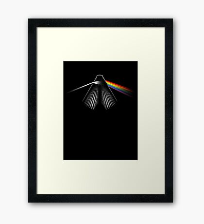 THE RAINBOW SIDE OF READING Framed Print