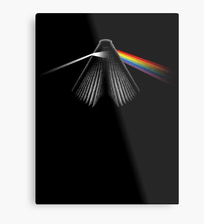 THE RAINBOW SIDE OF READING Metal Print
