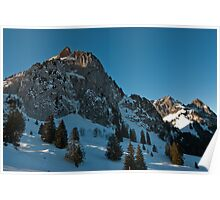 mythen mountains Poster