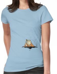 monk Womens Fitted T-Shirt