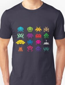 Space Invaders 8-Bit T-Shirt
