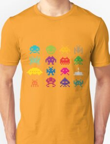Space Invaders 8-Bit Unisex T-Shirt