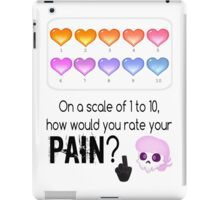 Lewis' scale of 1 to 10 iPad Case/Skin