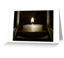 Open Flame Greeting Card