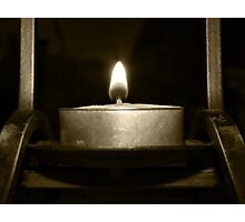 Open Flame Photographic Print