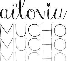 ailoviu! by palabradesapo