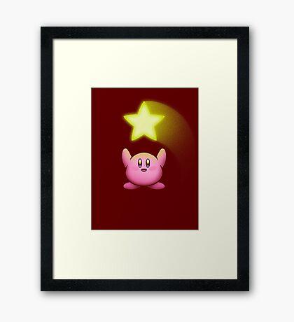 SUPER STAR! Framed Print