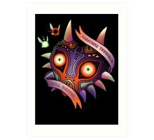 TERRIBLE MASK Art Print