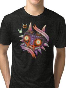 TERRIBLE MASK Tri-blend T-Shirt
