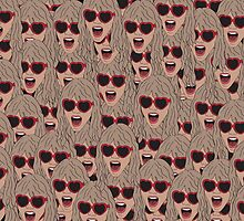 Taylor  Swift Faces. by Wiggamortis