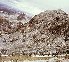 Snowdon at Easter 2 by Frederick Wood