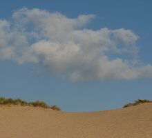 Sand sky clouds by mariondixon