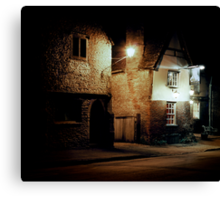 The George, Lacock Canvas Print