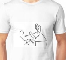 information scientist nerd computer Unisex T-Shirt