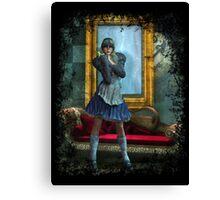 Alice in Steampunk Wonderland Canvas Print