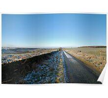 Road at Shortwaite Poster