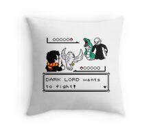 WIZARD BATTLE Throw Pillow