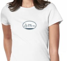 Avon by the Sea - New Jersey. Womens Fitted T-Shirt