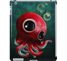 Cute Octopus in Deep Sea iPad Case/Skin