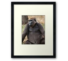 Julie's Girl Framed Print