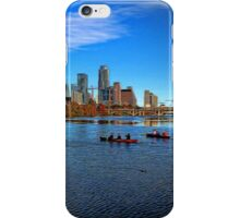 Austin Skyline Painted iPhone Case/Skin