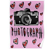 I love photograph Poster