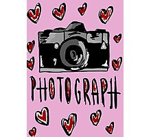 I love photograph Photographic Print