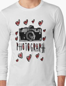 I love photograph Long Sleeve T-Shirt
