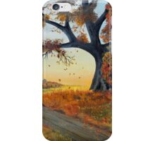 October Breezes iPhone Case/Skin