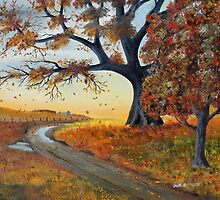 October Breezes by Jack G Brauer