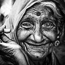 Grandma in b&w...!!! by niklens