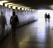 Paris Subway by Alan McMorris