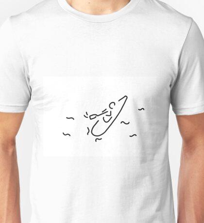 canoe kayak boat sport paddle Unisex T-Shirt