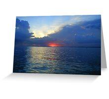 Sunrise on Amazon Greeting Card