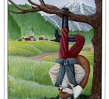 "Tarot - ""The Hanged Fox"" by Julie Thompson"