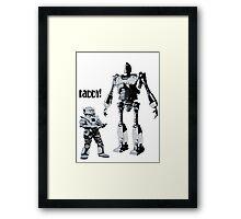 Robot Daddy Framed Print