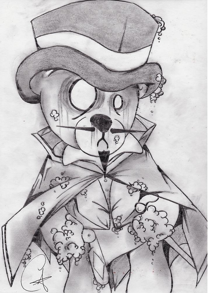 Tedd the Ripper by chriszenga