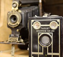 Old time cameras by bl0ndeeo2