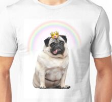 Princess Pug  Unisex T-Shirt
